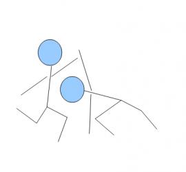 tanzimprostrichmännchen